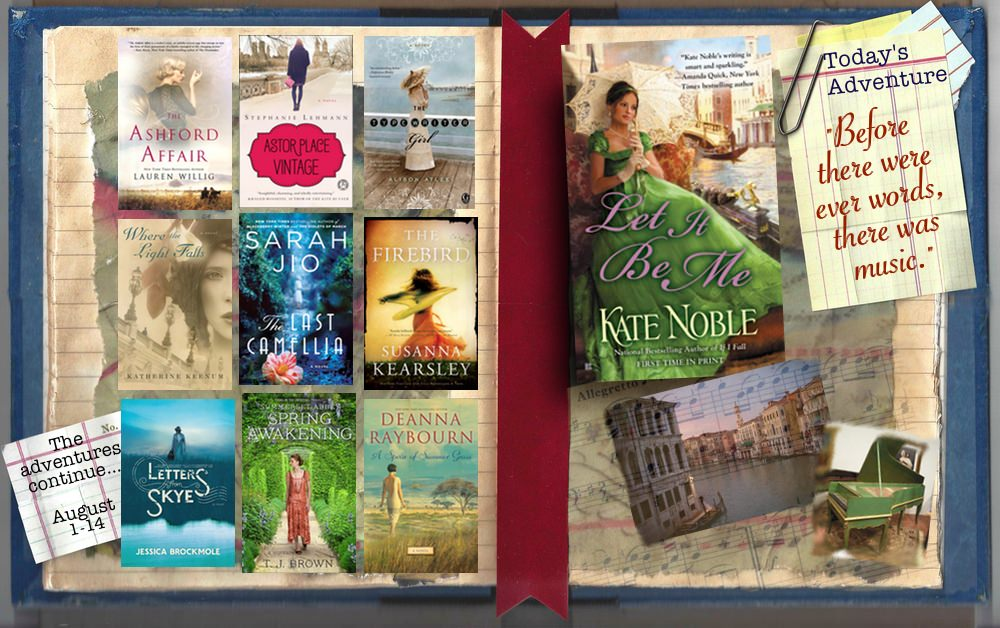 Unforgettable Adventure Giveaway: Let It Be Me by Kate Noble